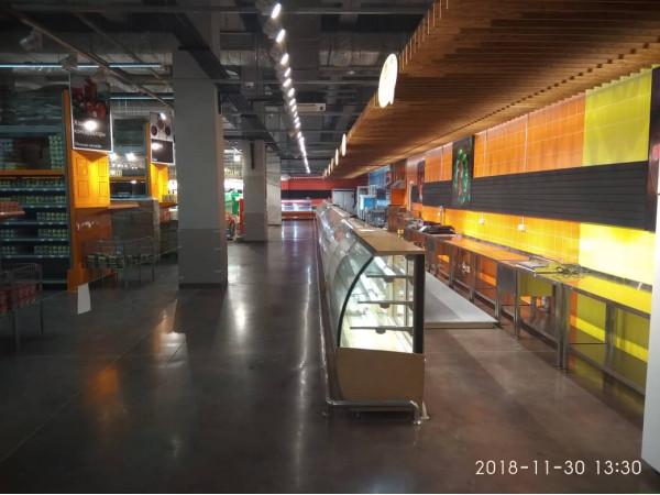 Промышленные полы для объекта Супермаркет GLOBUS в городе Ош - Центр полов