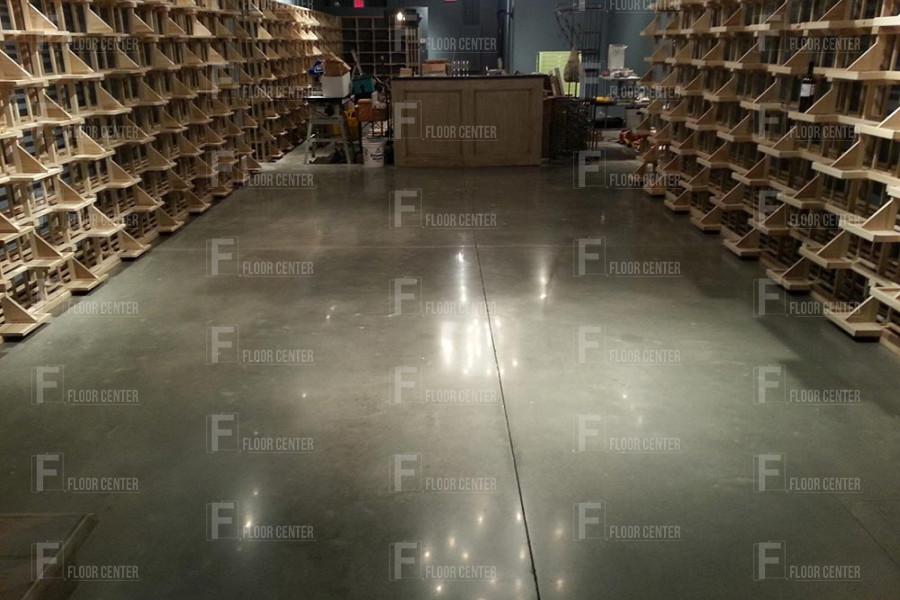 Промышленные полы - Полы из полированного бетона - Floor Center, Бишкек