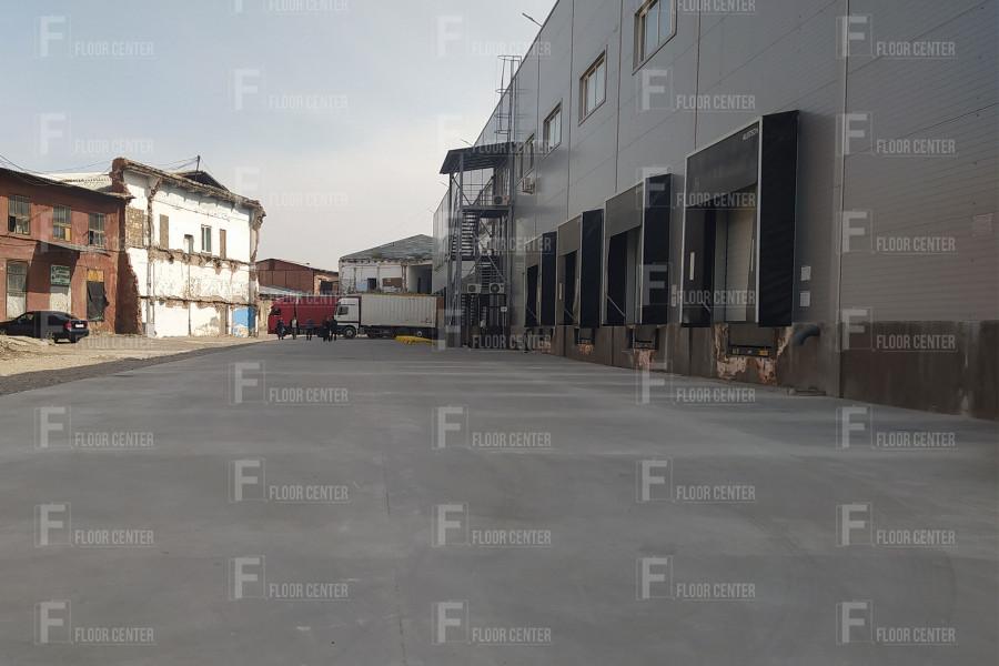 Промышленные полы - Дорожное покрытие из армированного бетона - Floor Center