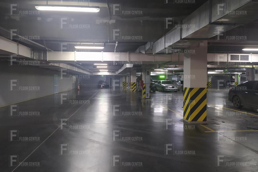Промышленные полы - Топинговый пол в ТЦ