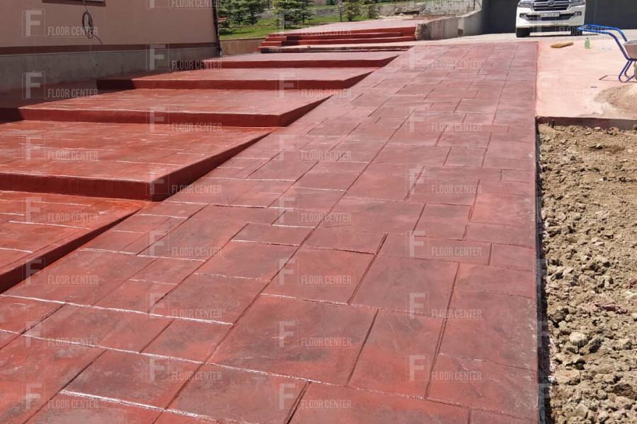 Промышленные полы - Пол из декоративно-печатного бетона - Floor Center
