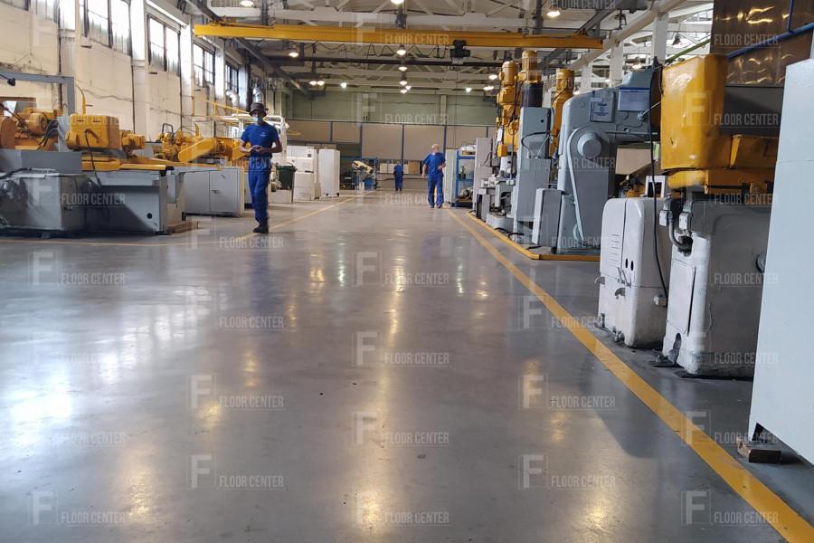 Промышленные полы - Монтаж полов на заводе