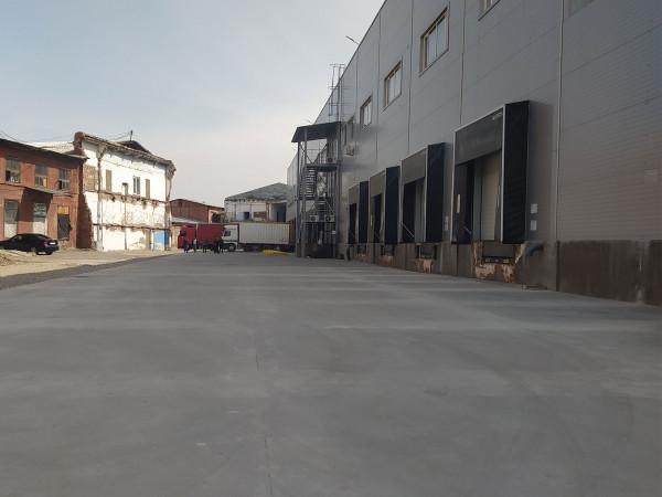 Промышленные полы для объекта Логистическая компания ST Logistic - Центр полов