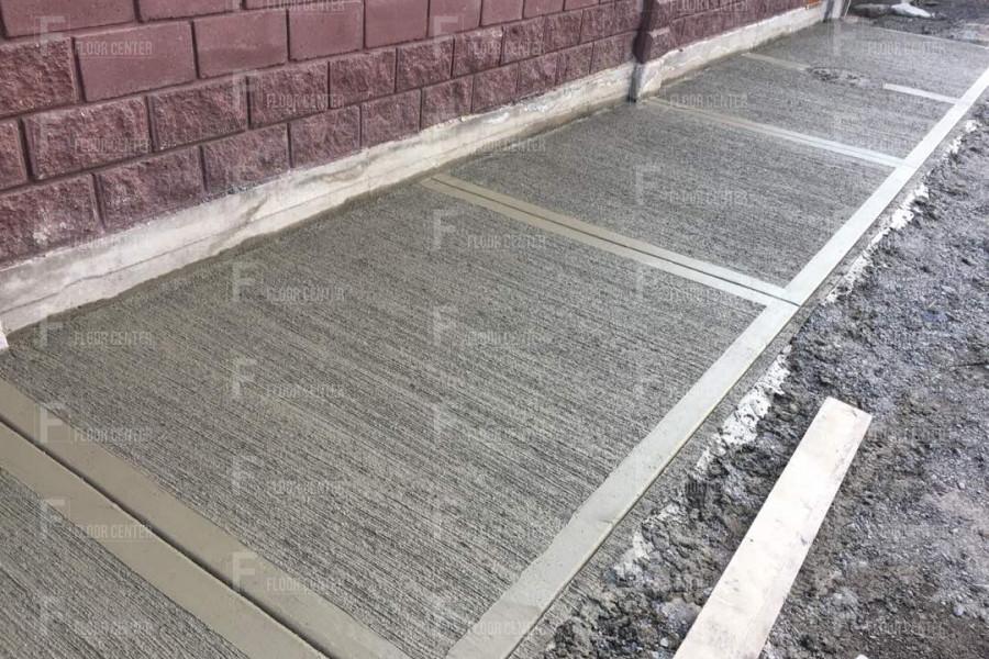 Промышленные полы - Полы из декоративно-печатного бетона в Бишкеке - Floor Center
